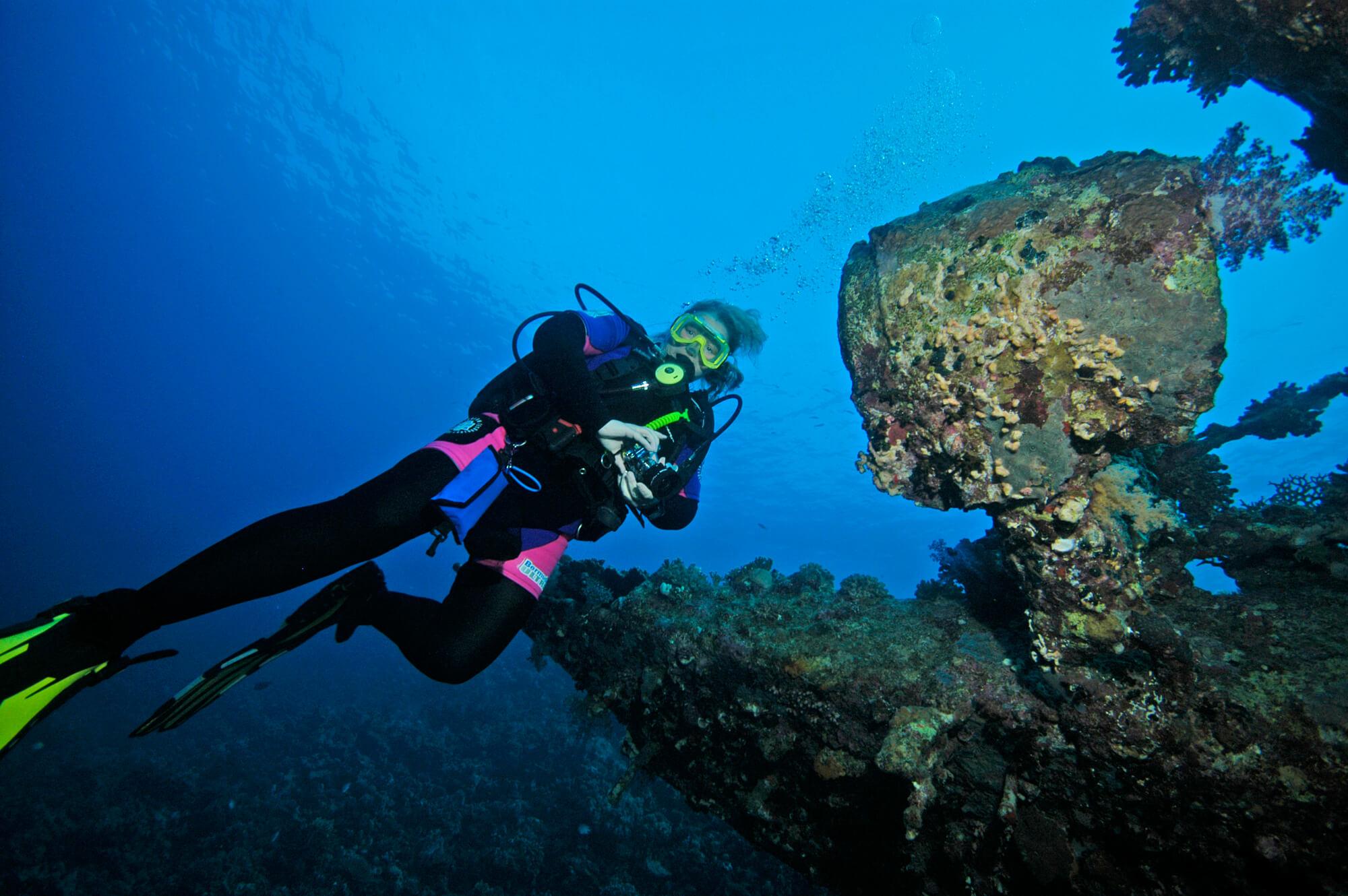 Vicki Wusche Scuba Diving
