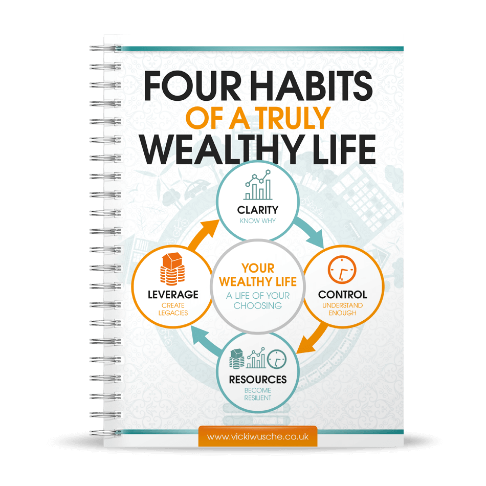 Four Habits of a Wealthy Life by Vicki Wusche